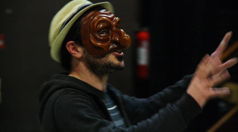Atelier théâtre amateur adultes - masque -TRR Villejuif