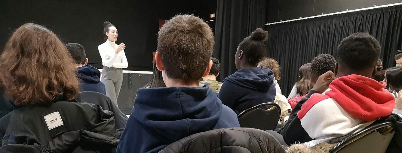 Action culturelle - rencontre scolaire -TRR - Villejuif