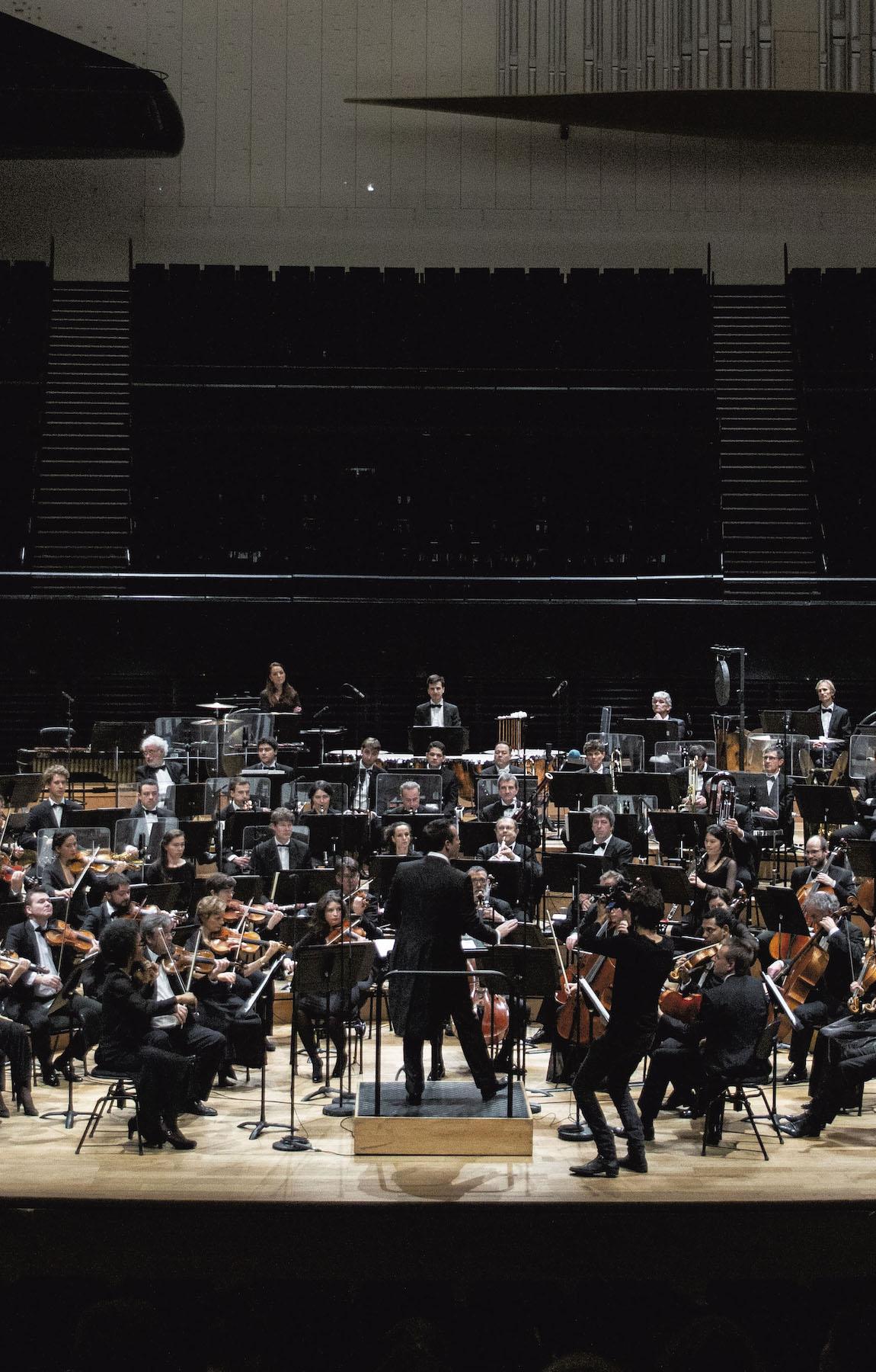 Orchestre national d'île de france - TRR Villejuif