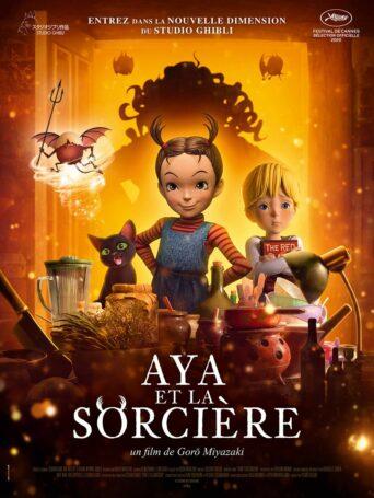 Affiche du filmAya et la sorcière