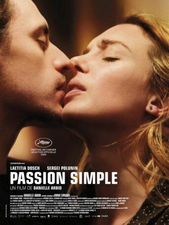 Affiche du filmPassion simple